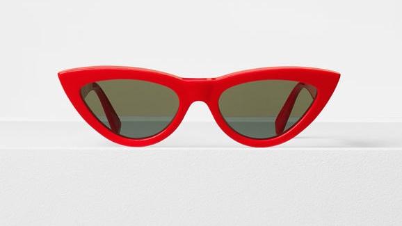 lunettes de soleil rouge CELINE 40019
