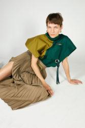 de la couleur pour cette robe haute en couleurs CELINE, COLLECTION PRINTEMPS 2018