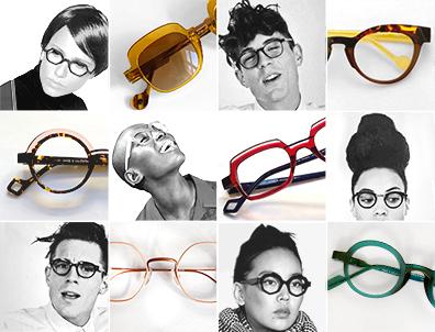lunettes anne et valentin chez Bastille Optic